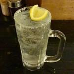 焼鳥どん - 生レモンサワー