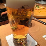 34338559 - ベーシックなエビスビール。食事に良く合いますね。