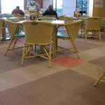 鵜来来の湯 十王 - テーブル席以外に座敷もありました。