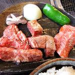 3434728 - 蔵王牛焼肉ランチ(上)