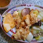 ちゅー - 料理写真:中華定食