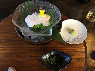 日本料理 梅林 - 天然とらふぐの白子刺し