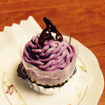 maple - 料理写真:紫芋のモンブラン