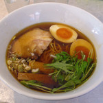 34341346 - JAZZ麺2.7(支那そば・しょうゆ 700円  ※煮玉子サービス)