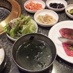 高麗 - カルビ定食
