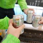 ケンちゃんかき - ノンアルで乾杯!