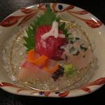 日本料理 彩 - 造り三種盛合せ