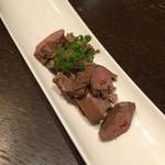 札幌ぶたやO38 - 白レバーの梅酒煮、甘い。