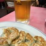 大成軒 - 餃子にはビール