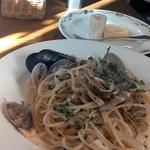 クッチーナ イタリアーナ アンゴロ - 海の幸白ワインソース850円