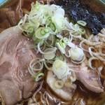 34351370 - ラーメン大盛(麺かた)
