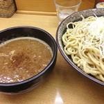 つけ麺 渡辺 - 太麺大 濃厚魚介MIX!