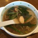 味の大津屋 - 野菜たっぷりスープ