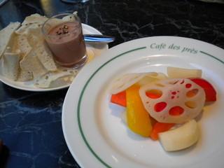 ソムリエ'sハウス - レバーペースト&野菜ピクルス