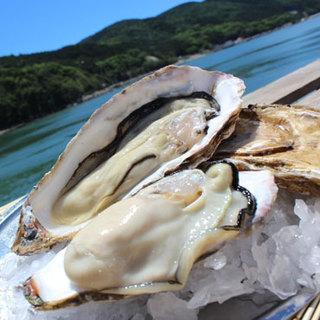 旬の美味しい牡蠣を一年中ご提供!!