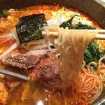34355200 - カルビスープ麺