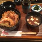 あかし - 竹天丼¥1000