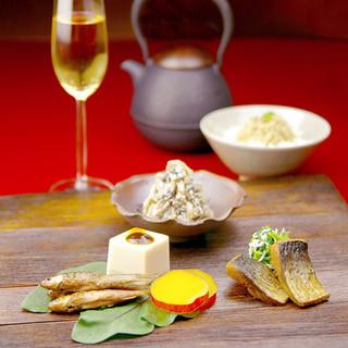 京都家庭料理のおばんざいが、雅に変身