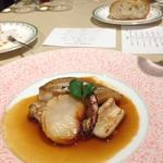 レストラン 香松 - アコウのポワレ・白子・スルメイカ・ホタテをブイアベースソースで