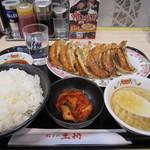 餃子の王将 - 餃子定食 780円