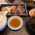 焼肉 くらべこ - ミックスランチ1480円