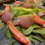 宮がみ屋 - 海鮮サラダ