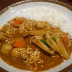 カレーハウスCoCo壱番屋 - (2014/11月)蒸し鶏と根菜の和風カレー