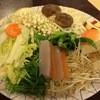 大原山荘 - 料理写真:鍋の野菜