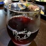 鶏っく - 赤ワイン