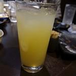 鶏っく - グレープフルーツジュース