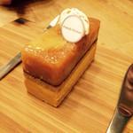 フレンチマーケット - これ大好きな味紅茶とりんごのケーキ♡