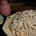 専心庵 - 粗引き蕎麦
