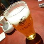 謝朋殿 - エビスビール650円+税