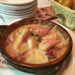 トスカーナ - 根菜のバーニャカウダ カスエラ煮