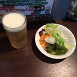 いきなり!ステーキ プレナ幕張店 - ランチビール250円