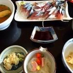 弘伸丸 - 鯖の刺身