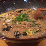 和麺居酒屋 一歩 - 野菜味噌 うどん