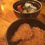 和麺居酒屋 一歩 - カツ丼、うどんセット