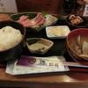 昭福 - 料理写真:お刺身定食600円税別
