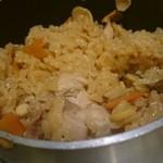 串鳥 - 釜飯
