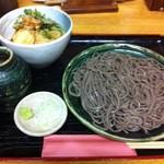 34375949 - もり&小天丼♪の黄金コンビ