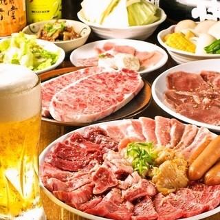【プレミアム】焼肉食べ放題+飲み放題全100品が食べ放題