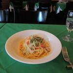 サルターレ - ツナ玉ねぎケーパーのスパゲッティーニ