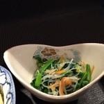 吉膳 - 青菜の和え物