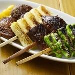 チキン プレイス - 野菜焼き各種
