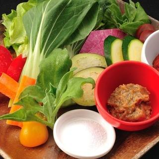 全国の有機無農薬野菜を仕入れています!