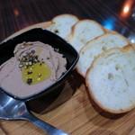 ITALIAN×SPANISH グラニタ - 自家製鶏レバーパテ