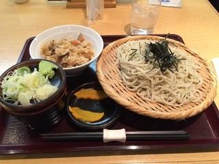 澤乃井 - ざるそばランチ