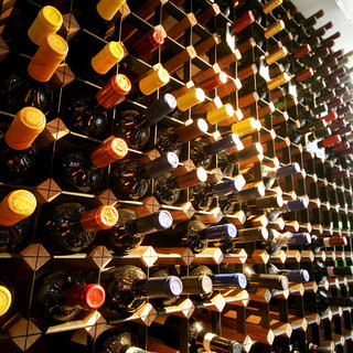シェフのお料理と厳選ワイン