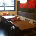 きち - 広めのテーブル席